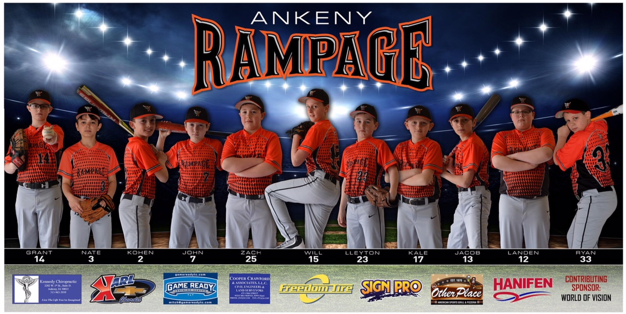 USSSA | USA Elite Select Team: Rampage - Ankeny, Iowa | Home