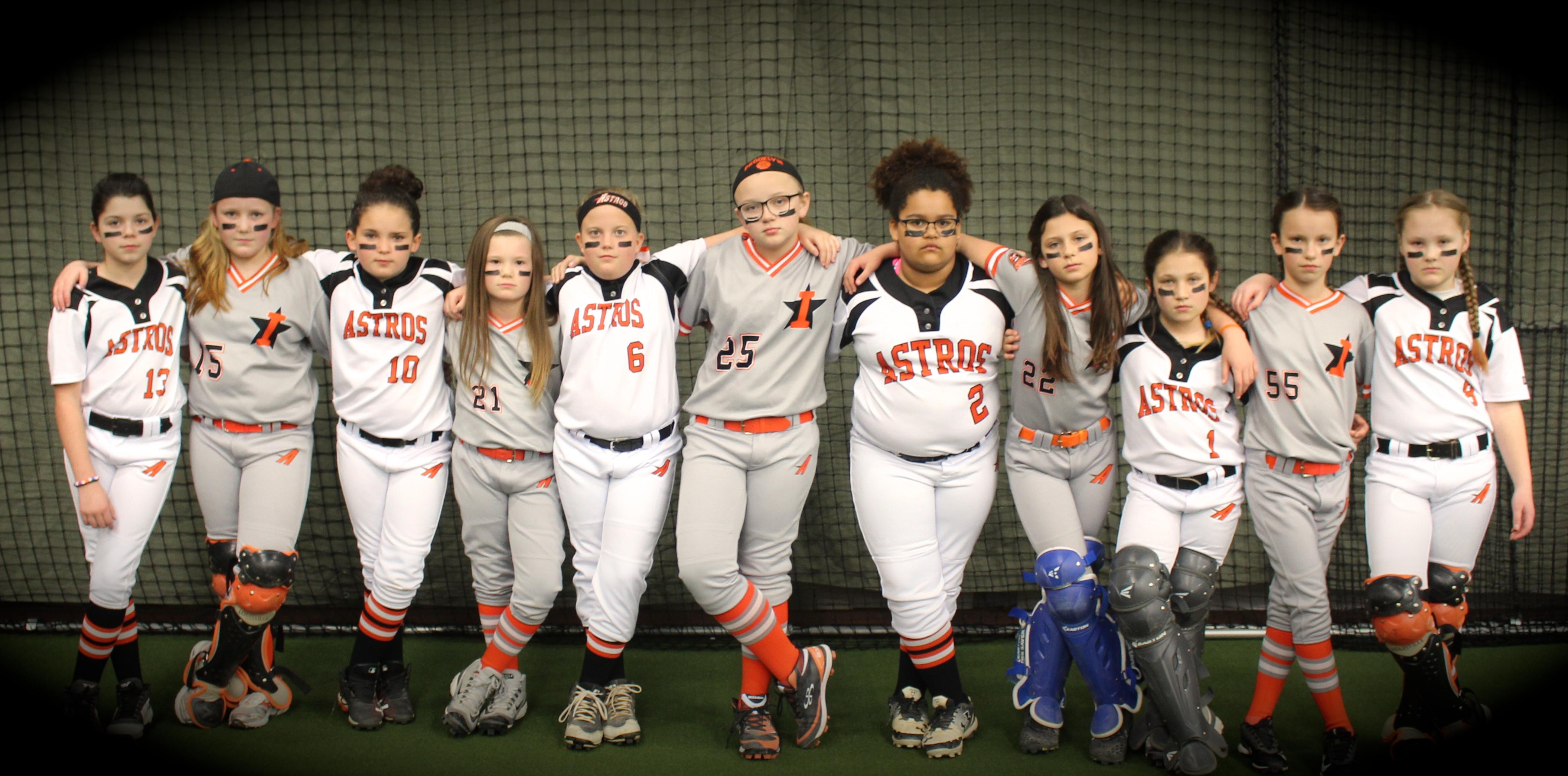 USSSA | Fastpitch Team: Indiana Astros 10u Orange