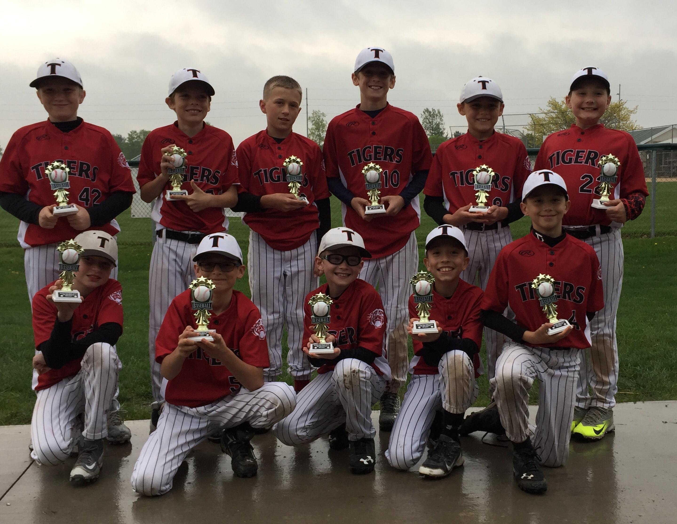USSSA | USA Elite Select Team: Tigers Baseball Club 10U Red