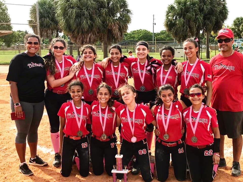 USSSA | Fastpitch Team: PINES THUNDER N B  - PEMBROKE PINES, Florida