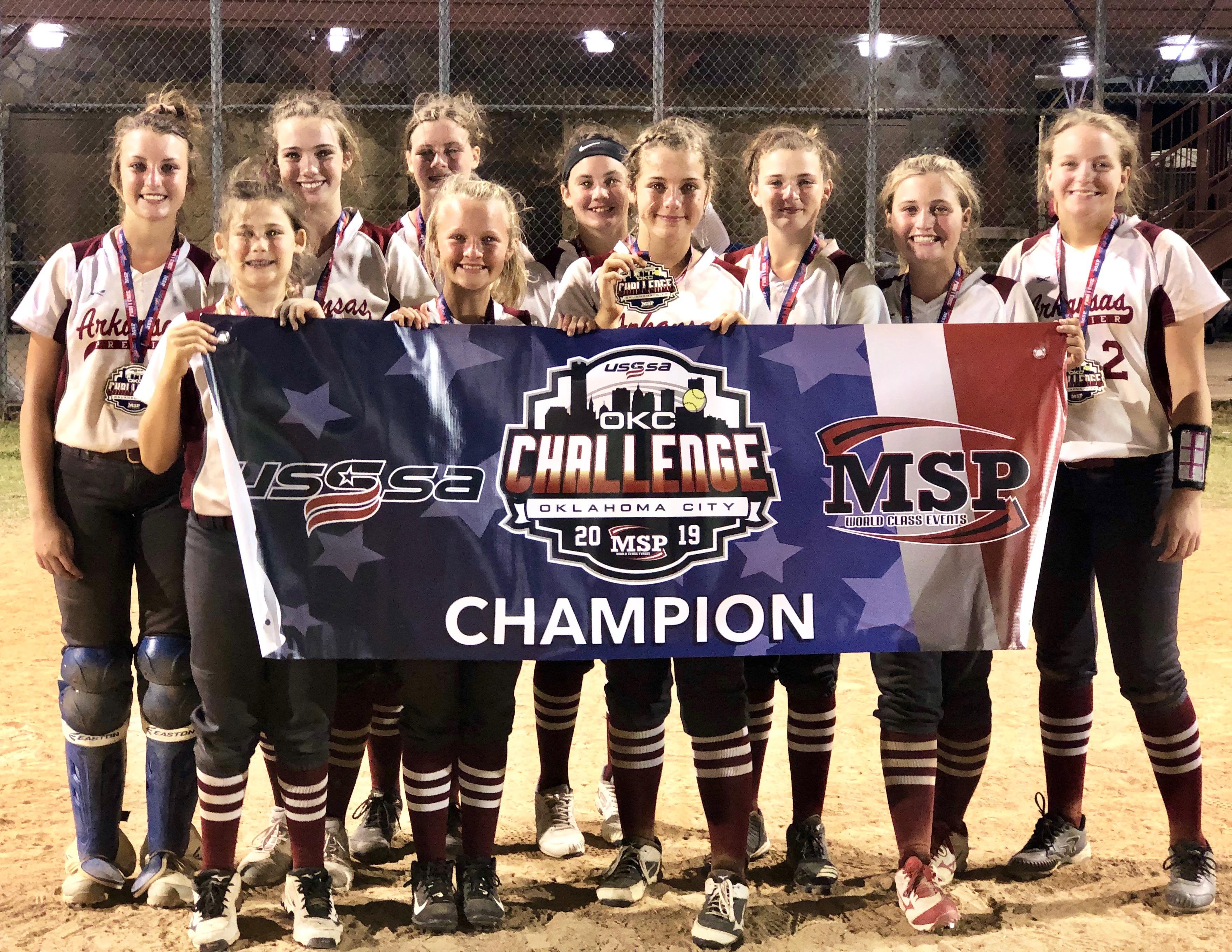 USSSA   Fastpitch Team: Arkansas Premier Fastpitch - Benton